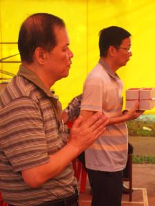 prayers one holding a box